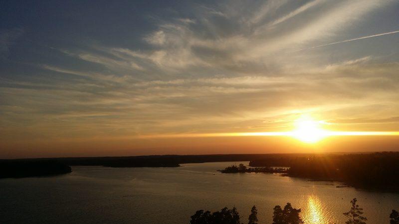 Kasavuori - Näkymä Espoonlahdelle kohti Kirkkonummea