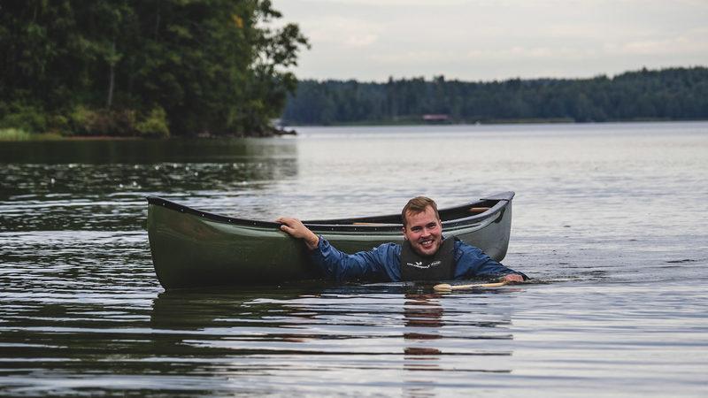 Melonnan peruskurssi Avokanootti heinäkuussa 2020 Siikajärvellä