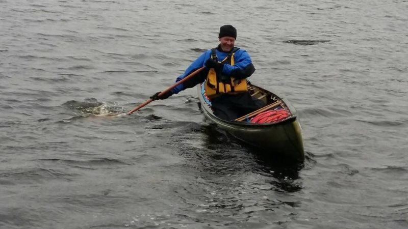 Meloja 2 avokanootti (EPP2 open canoe) taitokoe