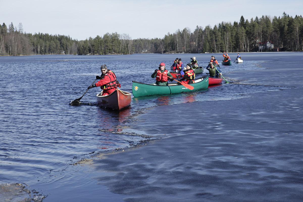 Canoa al Parco Nazionale di Nuuksio - Escursioni da Helsinki