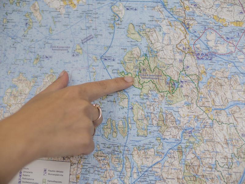 Kartat ja reitit