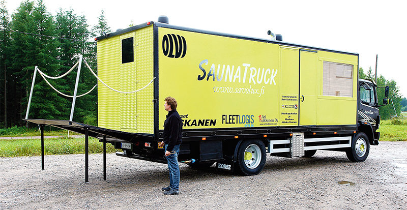 Savolux Sauna Truck
