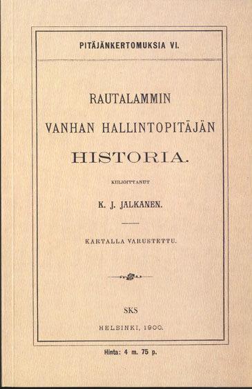 Rautalammin vanhan hallintopitäjän historia
