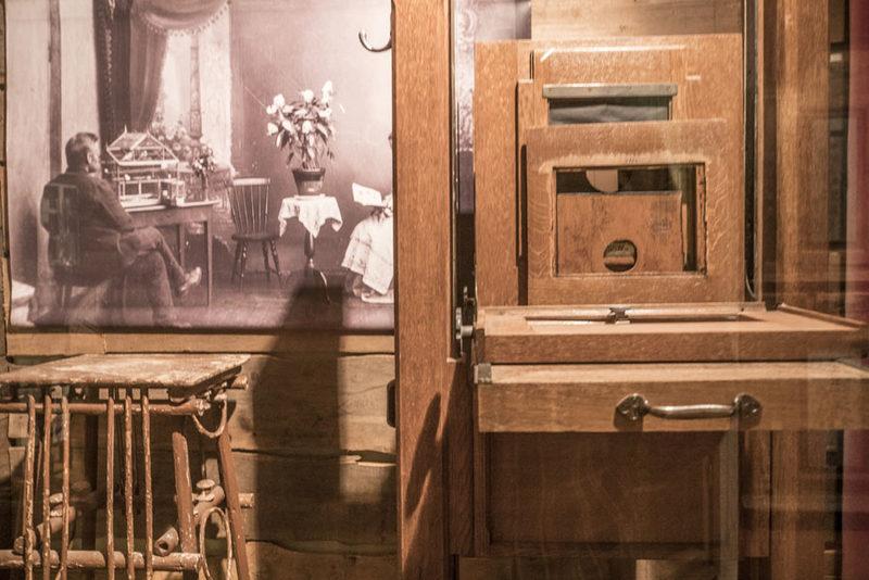 Heijastuksia - Rautalammin museon perusnäyttely. Kuva: Markus Sjöberg.