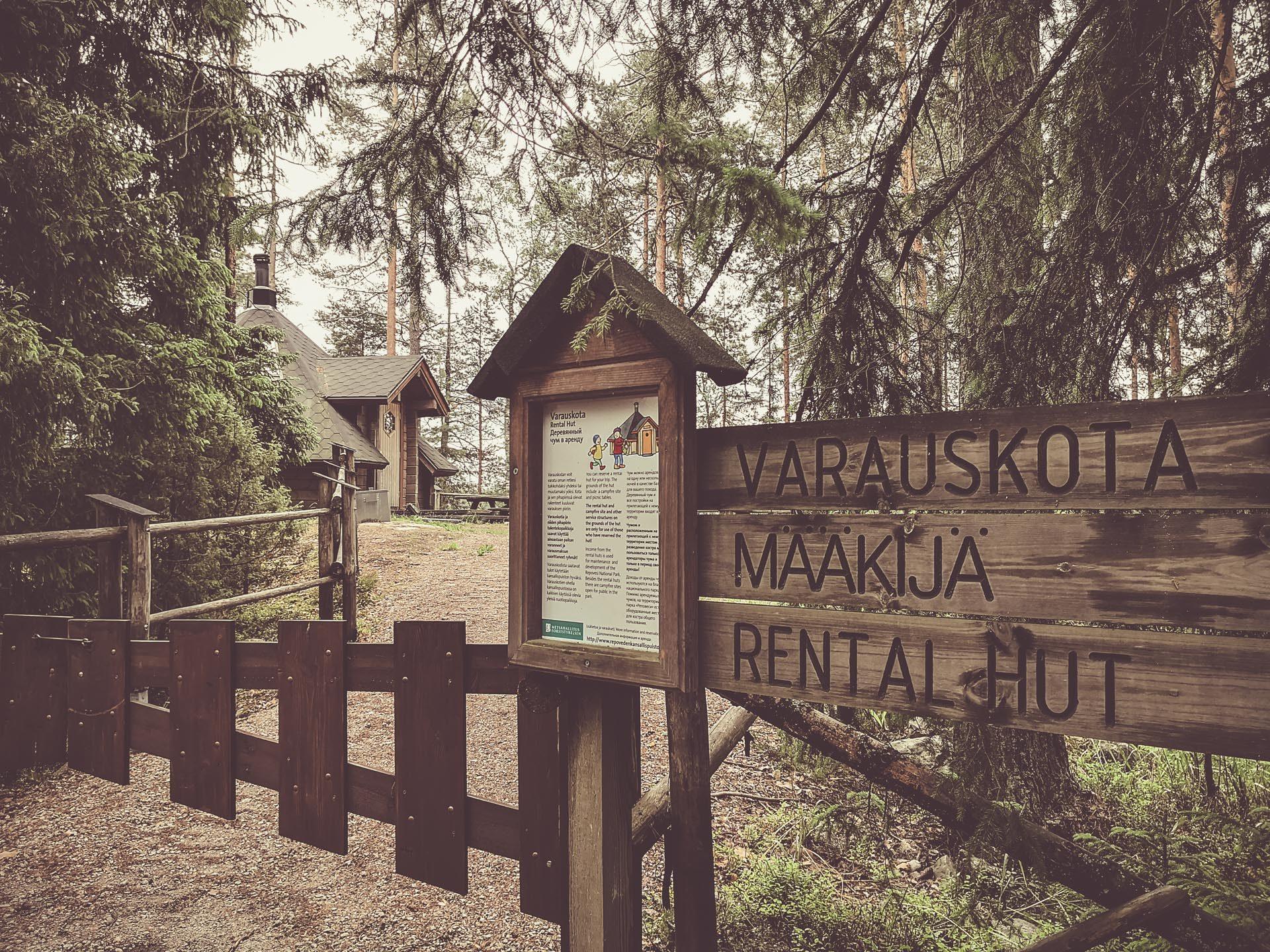 Määkijä varauskota sijaitsee ketunlenkillä - Määkijän varauskota on yksi suosituimmista kodista Repoveden kansallispuistossa.