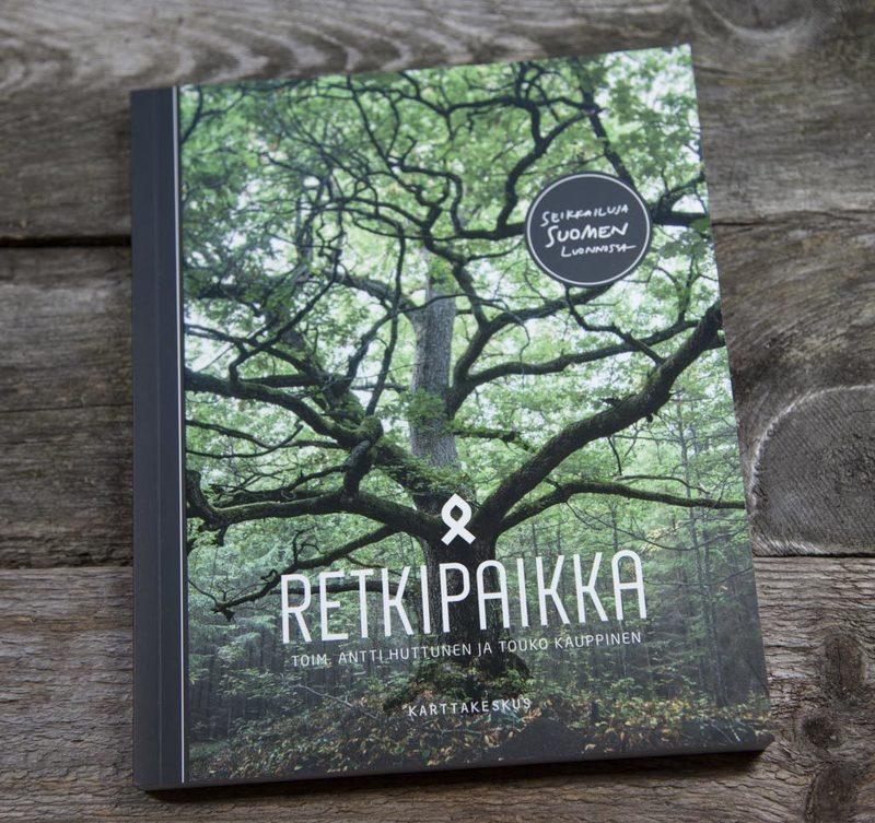 Retkipaikka - Seikkailuja Suomen luonnossa -kirja