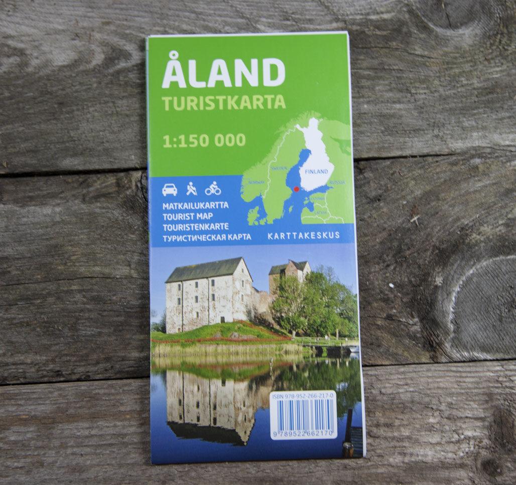 Ahvenanmaa 1:150 000 matkailukartta