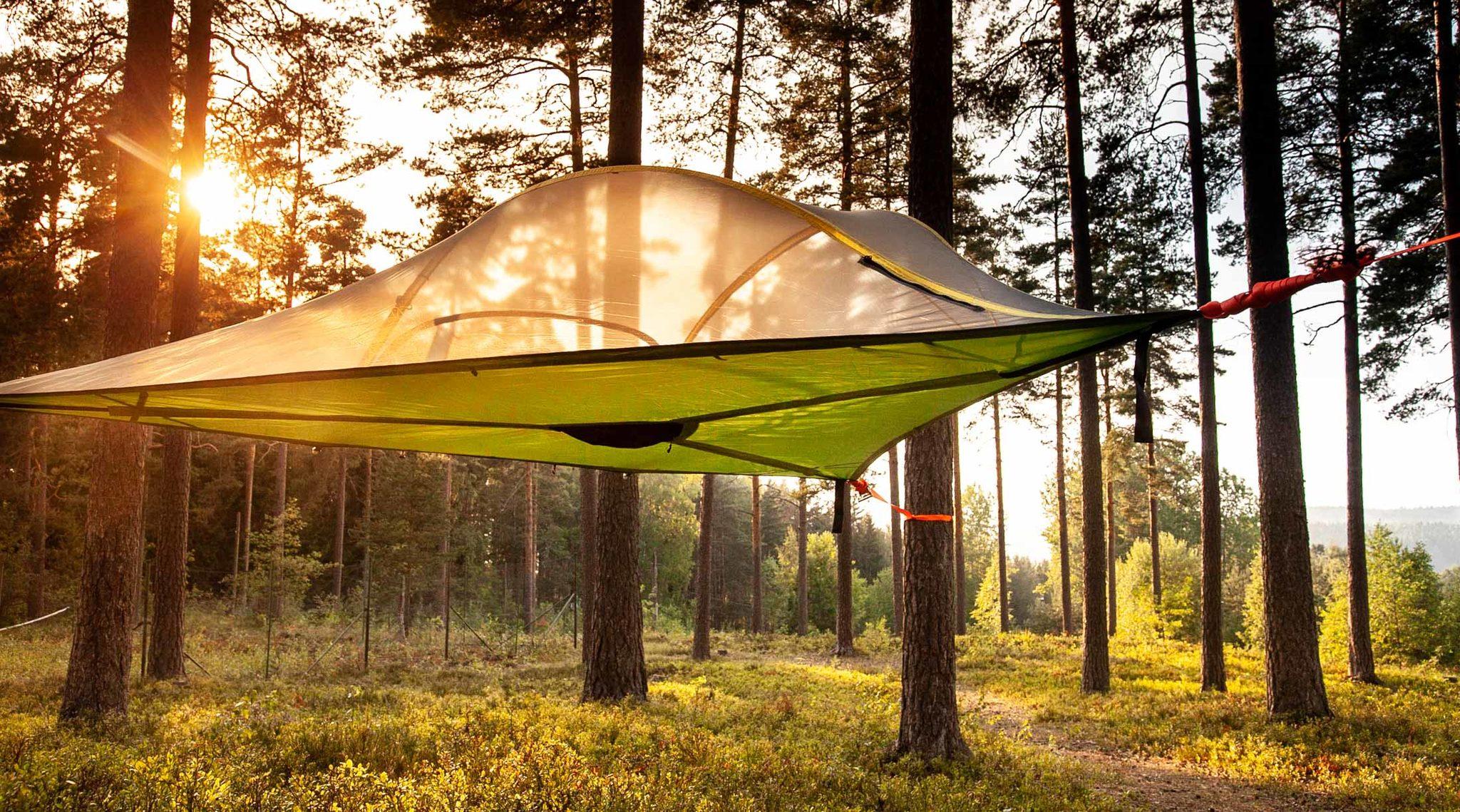 Yö kahdelle: Tentsile Camp Hiidenvesi