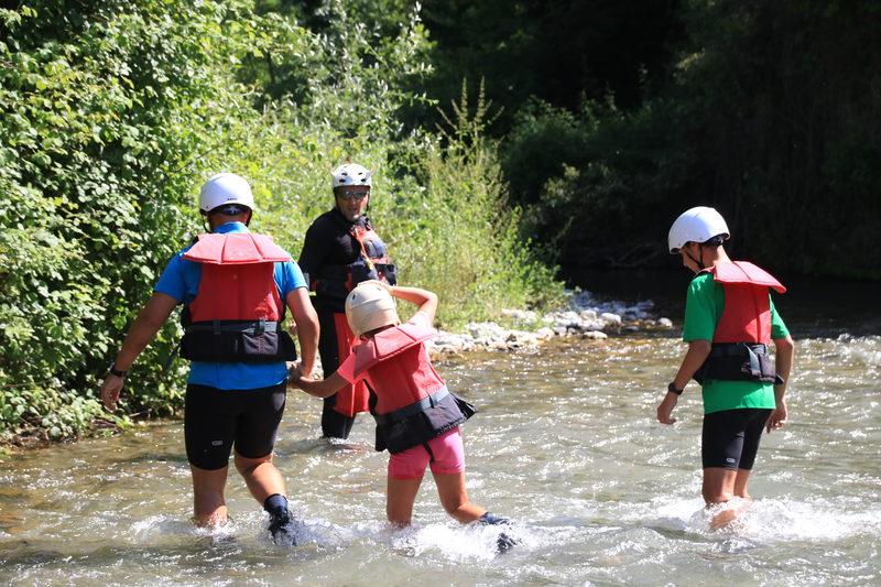River walking + Rafting
