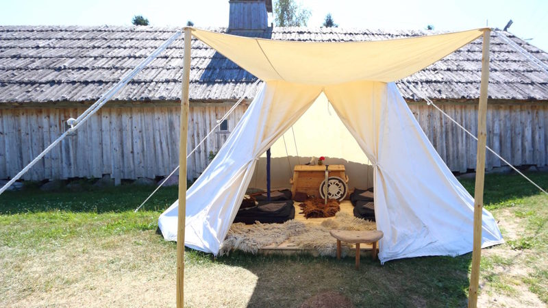 Viking Centre's Viking Tent