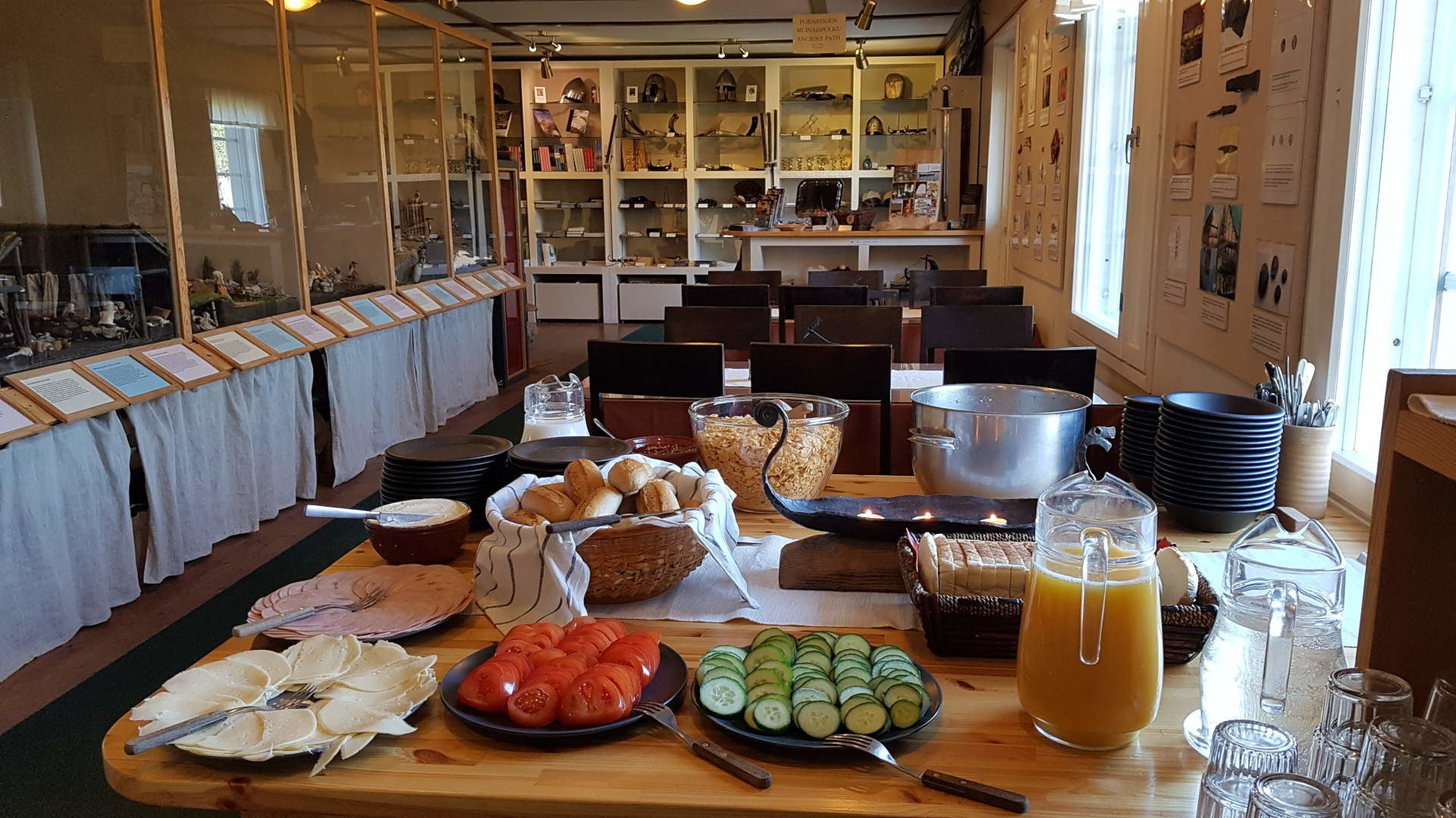 Windrose's breakfast