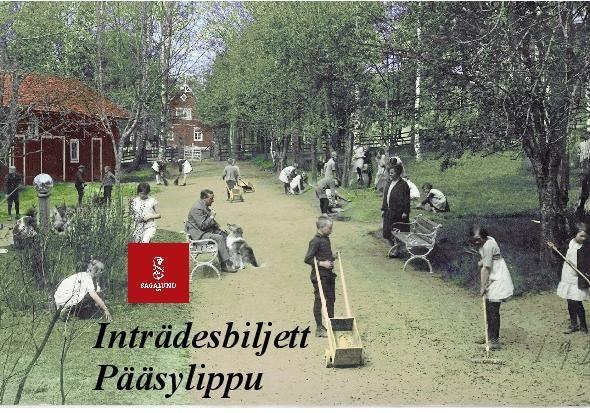 Sagalundin museo Pääsylippu lapsi 7-16 v