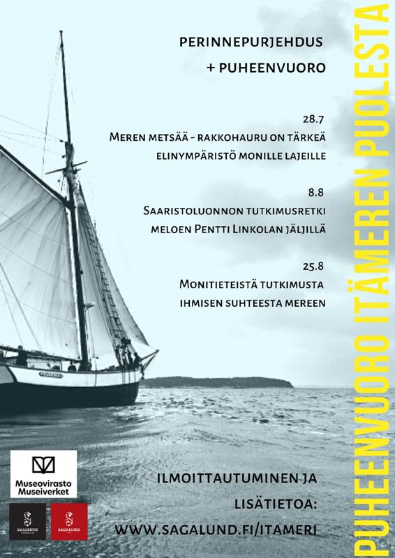 Seilaava puheenvuoro Itämeren puolesta IV  25.8. klo 18:30-20:00
