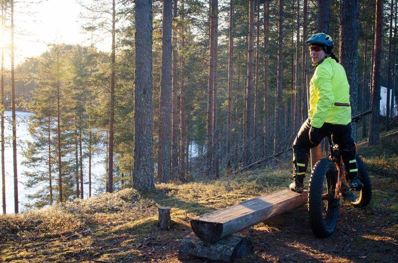 Tietoa maastopyöräilystä Suonenjoen Lintharjulla