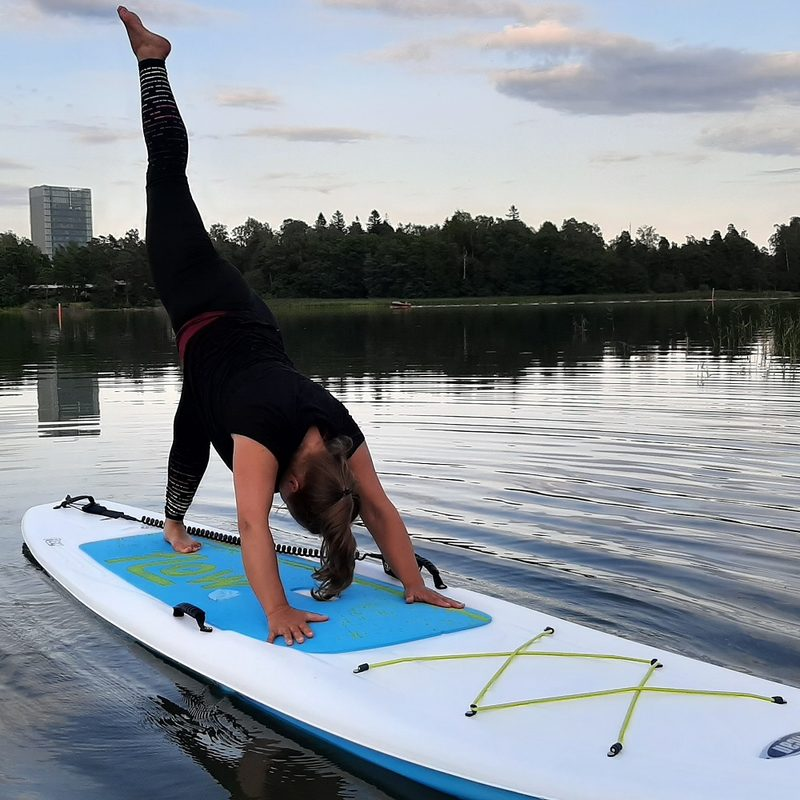 SUP yoga in Otsolahti