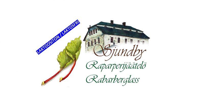 Sjundbyn Raparperijäätelö 5l