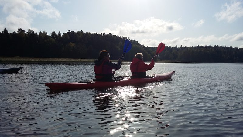 Double kayak from Inkoo