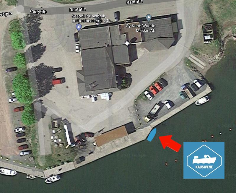 Seapoint Kausivene Taalintehdas laituripaikka