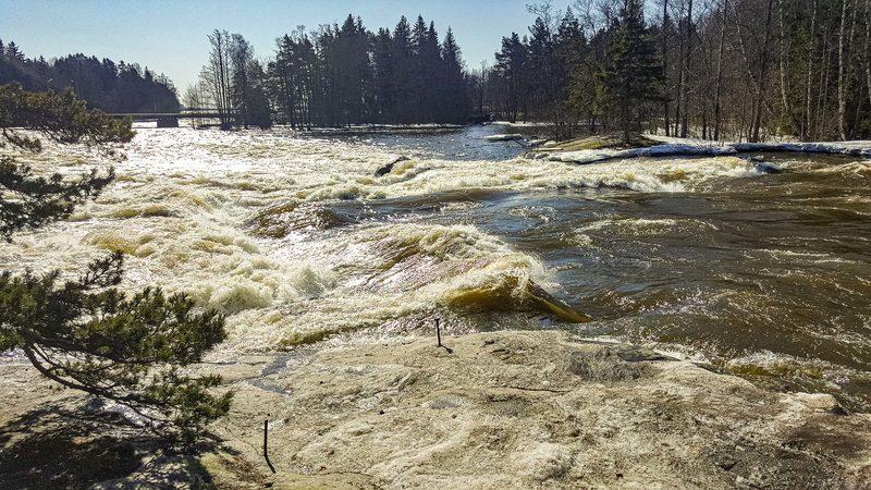 Yleistä Kymijoen vesistöstä