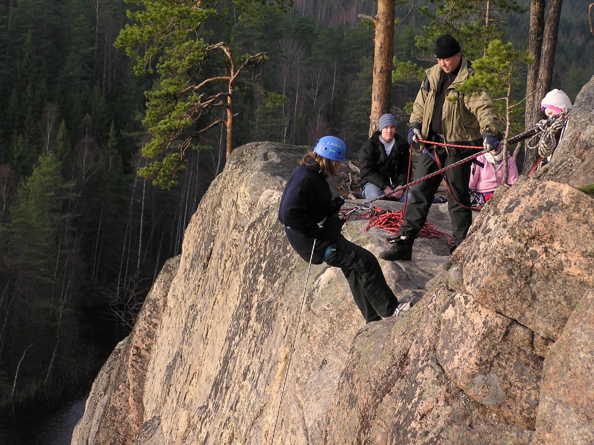 Aktiviteetit Repoveden kansallispuistossa