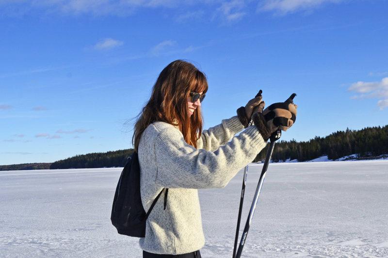 Retkiluistelua ja upeita talvimaisemia Tampereella, 2vrk
