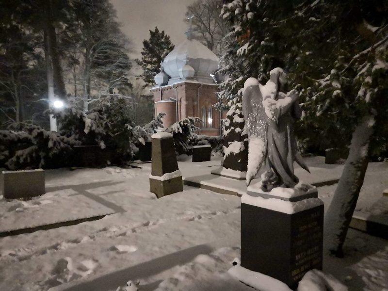 Jouluinen hautausmaakävely kaupungissa Turku 20. ja 26.12. klo 18, 1h