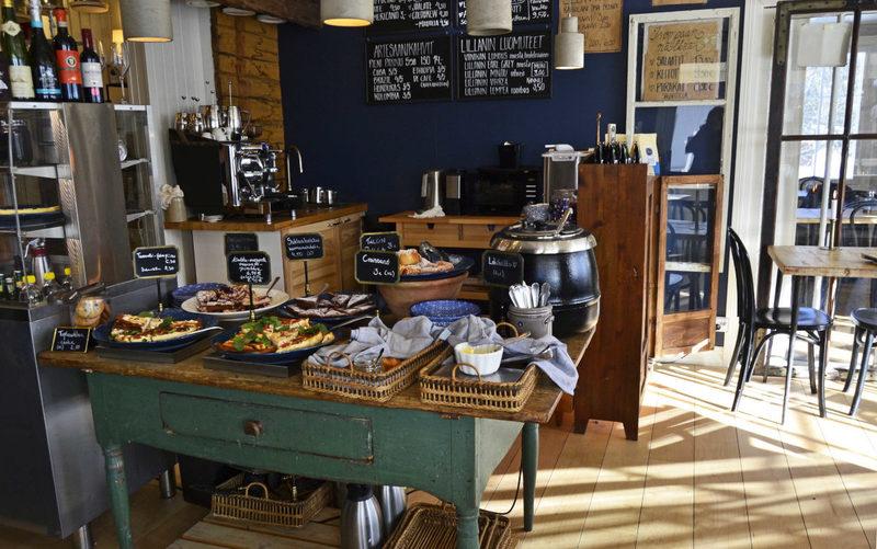 Hotellin kahvio