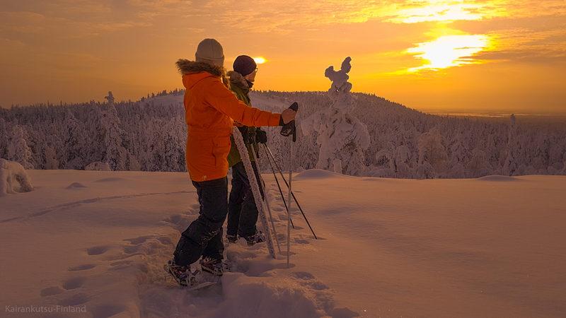 Lumikenkäretki Pyhä Luoston kansallispuistoon, 2,5h
