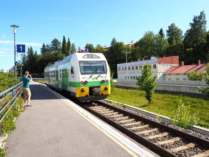 Junalla ekologisesti - Tämä reitti on suunniteltu niin, että se on helppo taittaa junalla nauttien sekä matkoista että kaupunkipysähdyksistä ilman autoa.