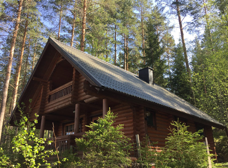 Tynkkylän Lomaniemi - Lomaniemestä löytyy monenkokoisia ja -tyyppisiä mökkejä, joilla kaikilla on oma ranta.