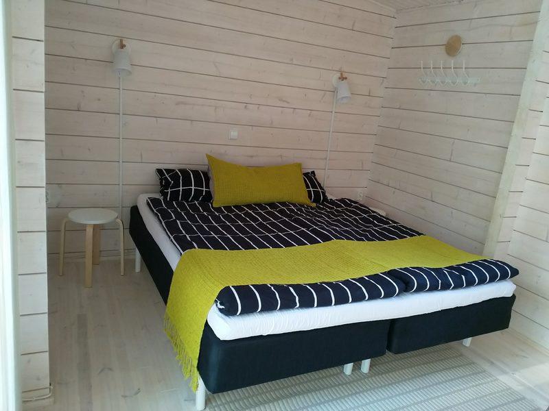 Saunatuvan sänky