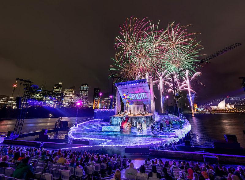 Handa opera at Sydney harbour / Puccini: LA BOHEME