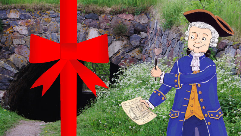 LAHJAKORTTI: Suomenlinnan seikkailukierros