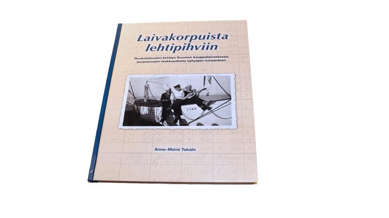 Laivakorpuista lehtipihviin. Ruokatalouden kehitys Suomen kauppalaivastossa: purjelaivojen niukkuudesta nykyajan runsauteen.
