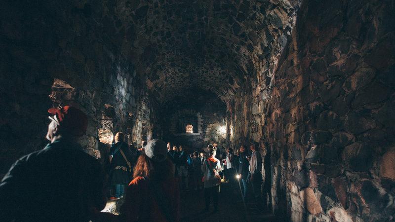 Viaporin tykit ja tunnelit -yleisökierros