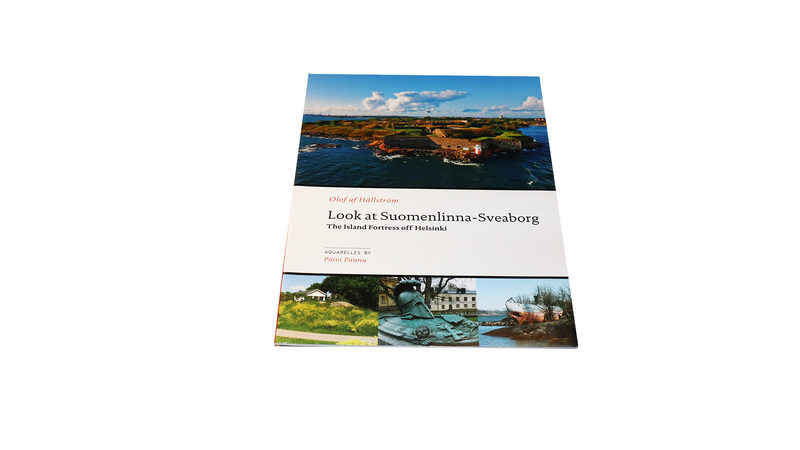 Look at Suomenlinna-Sveaborg. The Island Fortress off Helsinki. Guidebook.