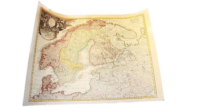 Juliste: Kolme pohjoista kuningaskuntaa