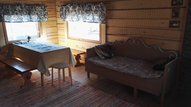 saunatupa - oleskelutila