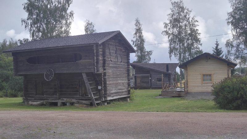 Pihan rakennuksia