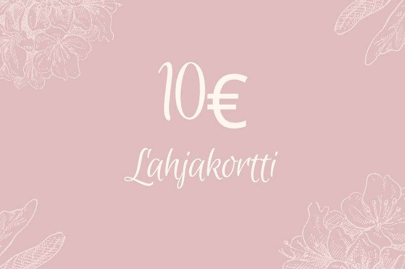 Lahjakortti 10€