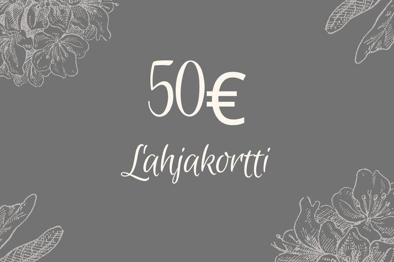 Lahjakortti 50€