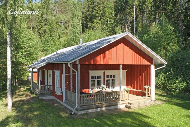Karkalin Kaiku - roomy cottage with wood-heated sauna