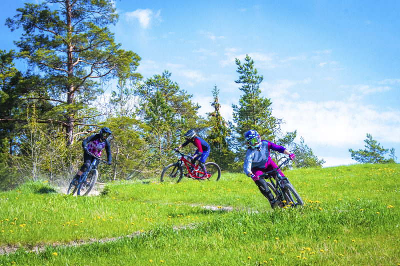 Ohjattu bikepark-sessio