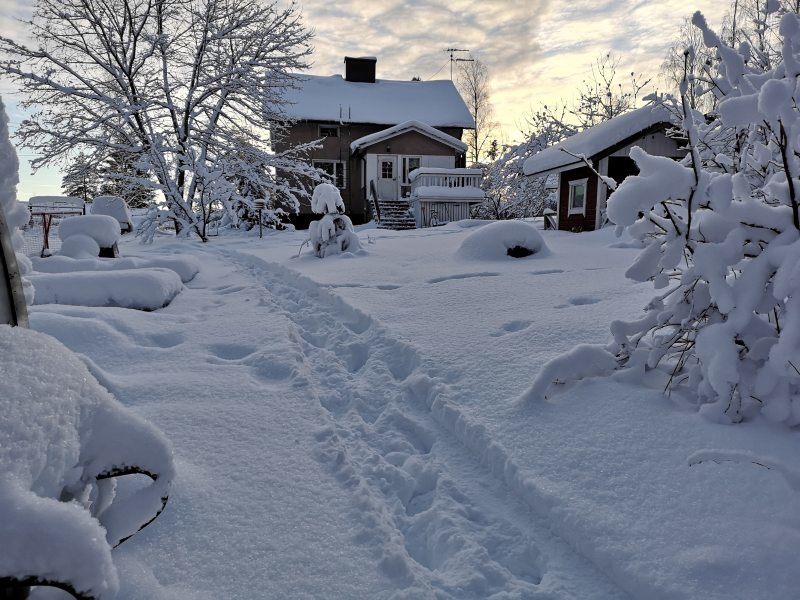 Home dining in Imatra