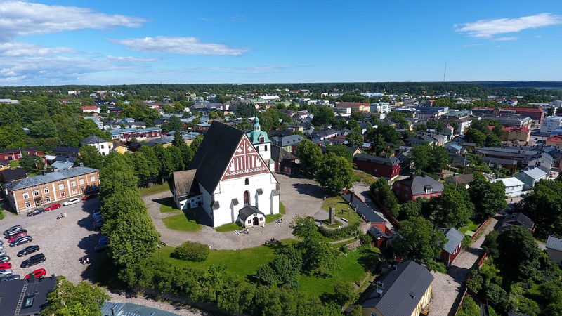 Visit a national park and Porvoo old town
