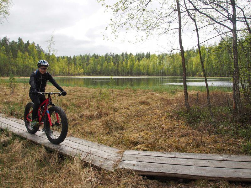 Maastopyöräily tutuksi -kurssi