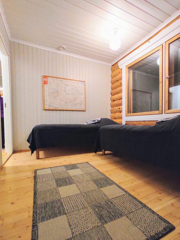 Taigalampi makuuhuone
