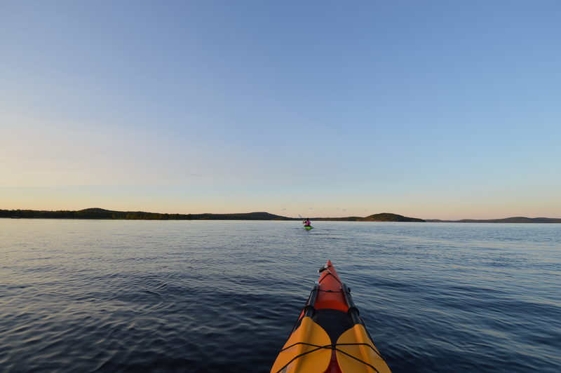 Two days kayaking course in South Lapland
