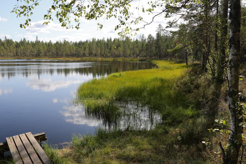 Geoparkin vesillä - Vedenjakajaseudulla vesistöt ovat pienehköjä mutta kiehtovia.