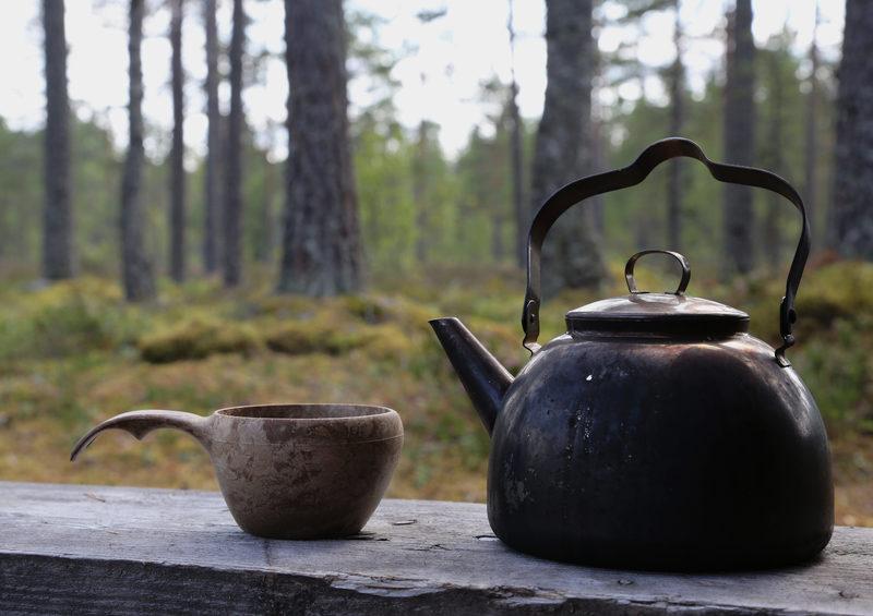 Taikapolku juhlii nokipannukahvilla - Taikapolku juhla järjestää kahvitarjoilun hienoilla luontokohteilla.